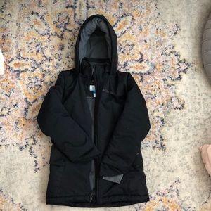 Youth black Columbia jacket with Omni heat